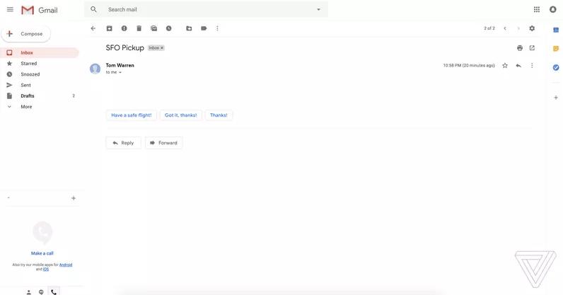 Google tendrá cambios para Gmail