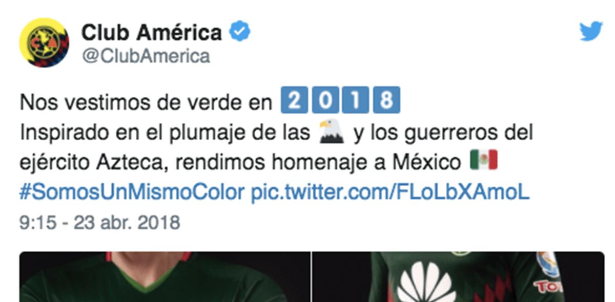 ¡Pasión tricolor! América presentó su uniforme mundialista