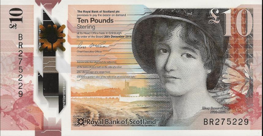 10 libras escocesas