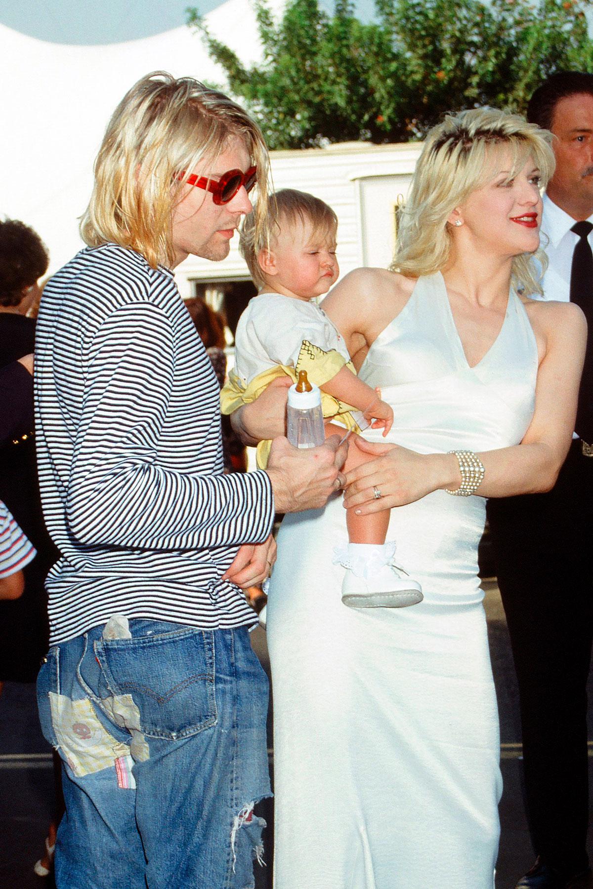 La hija de Kurt Cobain comparte un adelanto de su primera canción original