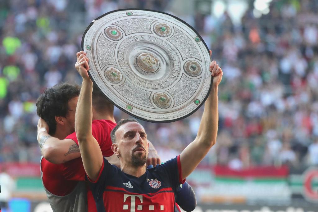 ¡Un año más! Franck Ribery extendió su contrato una temporada más con el Bayern Munich