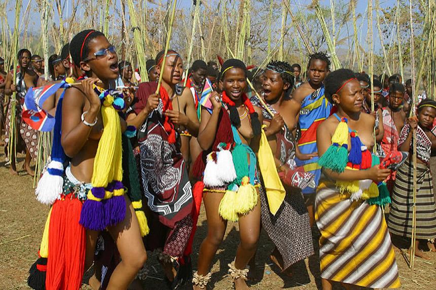 Vestimenta tradicional suazi