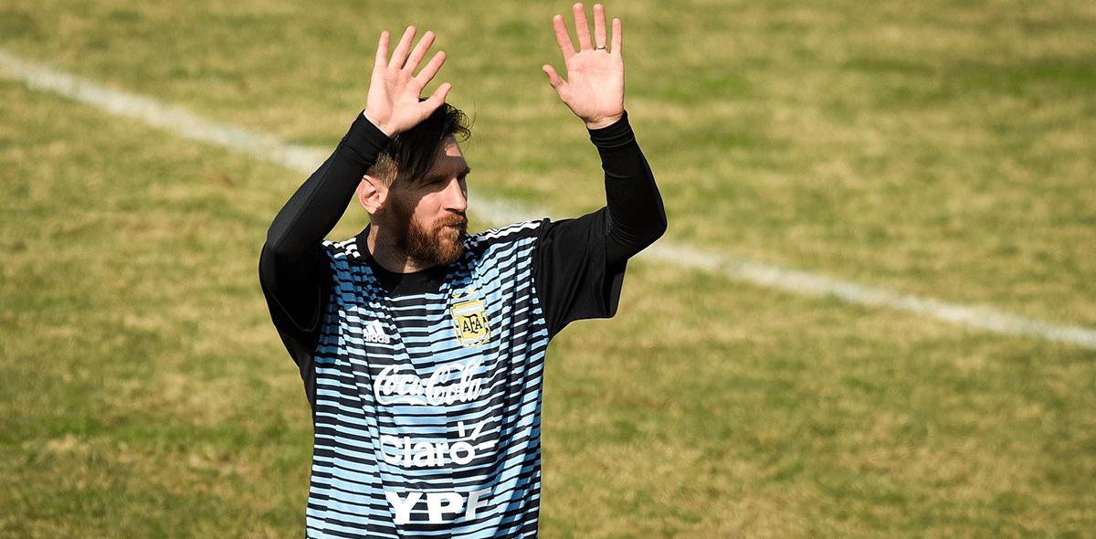 Boletos para ver a Messi vuelan en Jerusalén