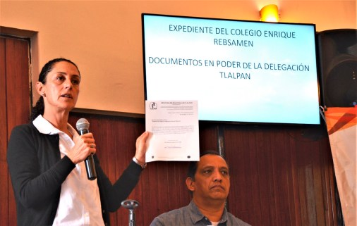 Presentación de documentos de Rébsamen
