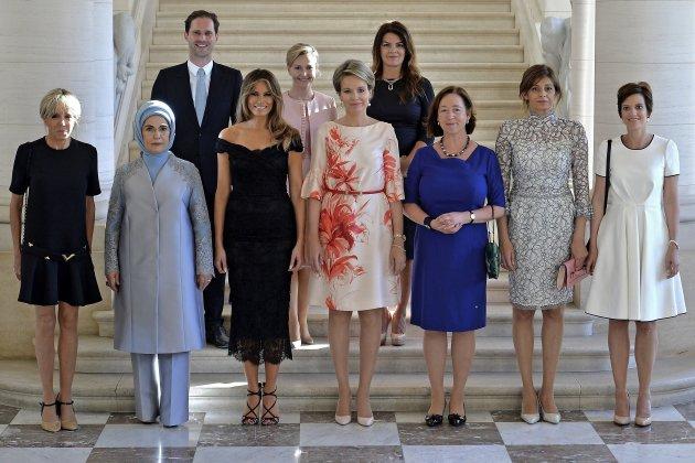 Primeras damas en la Cumbre de la OTAN