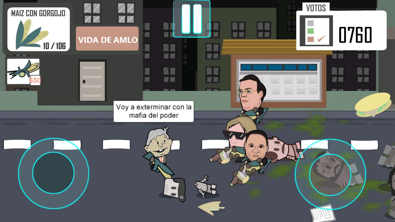 ¿Quieres luchar con AMLO contra 'la mafia del poder'? ¡Ya puedes hacerlo en tu celular!