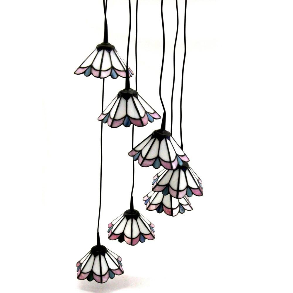 Hngeleuchte Tiffany 7 Flammig Hngelampe Wohnzimmer