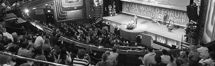 Skoll World Forum B&W Scaled