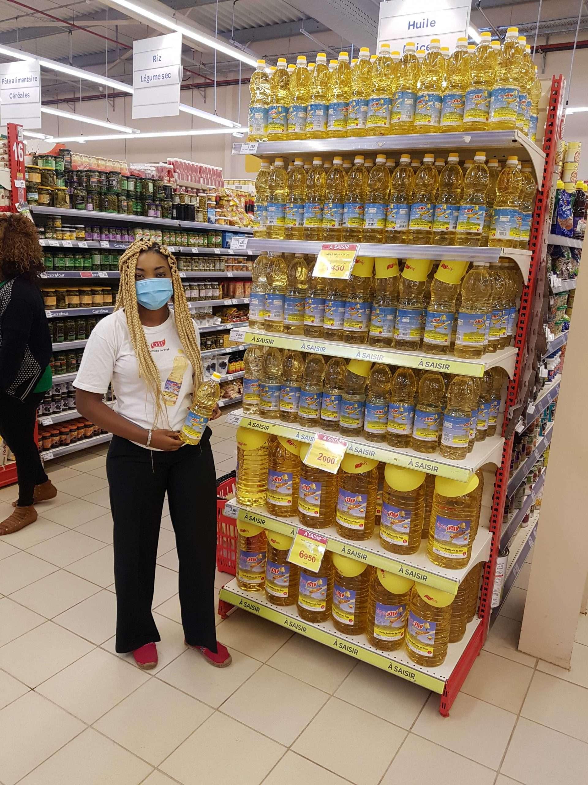 Aya Oil de retour sur les étals de Yaoundé avec de nombreux lots à gagner