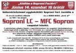 Kiállás a Soproni Fociért