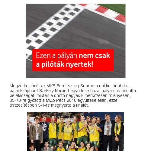 Sopron-Pécs?