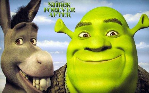 A Shrek 4. része 2010 nyarán a mozikban!