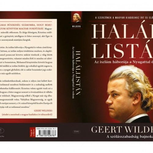 Könyvbemutató: Geert Wilders Sopronban!