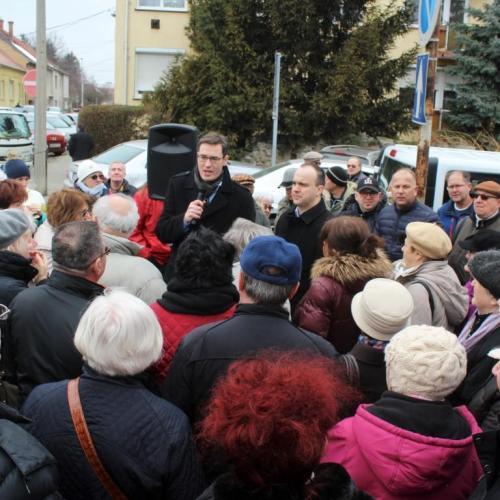 Miniszterelnök-jelölti látogatást tett Sopronban Karácsony Gergely