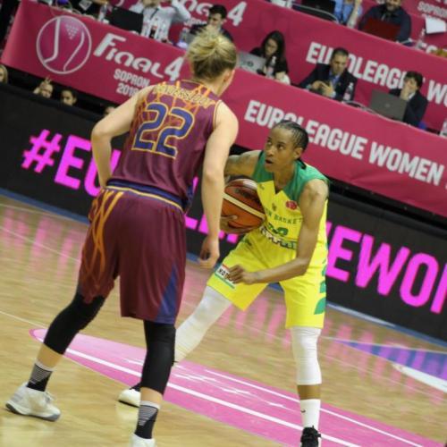 Női kosárlabda Euroliga – A soproni Yvonne Turner a legjobb irányító