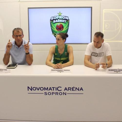 Sopron Basket: Továbbra is az elvégzett munkában hisznek a bajnoknál!