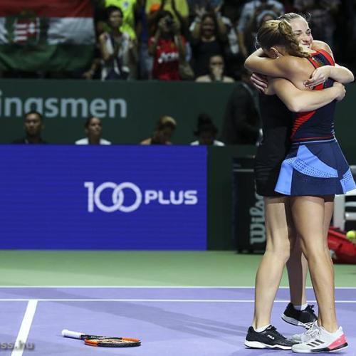 WTA-vb: Babos Tímea megvédte címét párosban