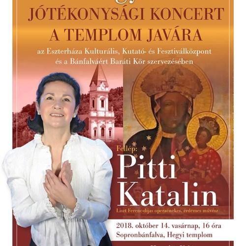 Jótékonysági koncert Sopronbánfalván