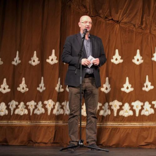 Radnóti-díjat vehett át Pataki András, a Soproni Teátrum igazgatója
