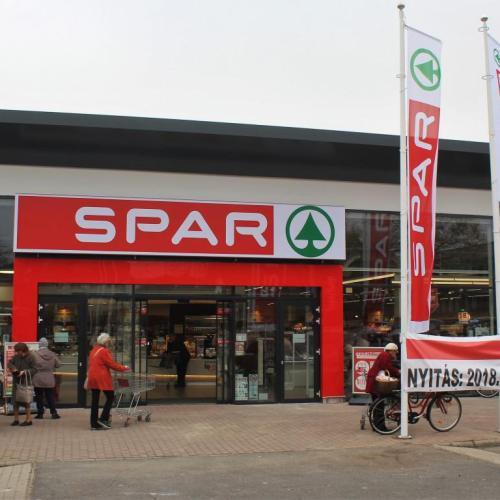 Teljesen megújult a SPAR szupermarket az Állomás utcában