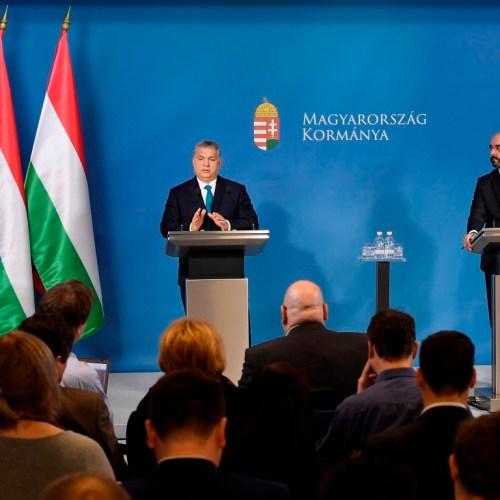 Orbán Viktor miniszterelnök tartotta a Kormányinfót!