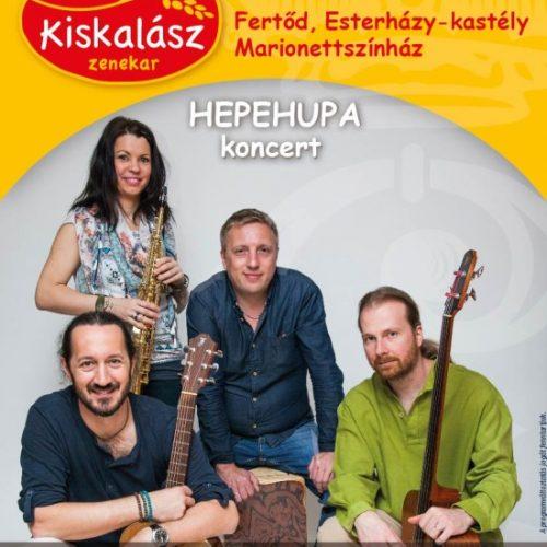 Gyermeknapi ajándék koncert a Kiskalásszal a fertődi Esterházy-kastélyban