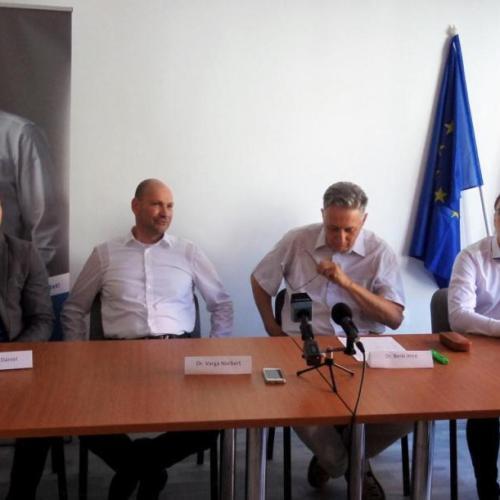 A második polgármesterjelölt: Dr. Varga Norbert (független)