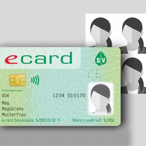 Fotóval ellátott új E-Card kerül bevezetésre Ausztriában