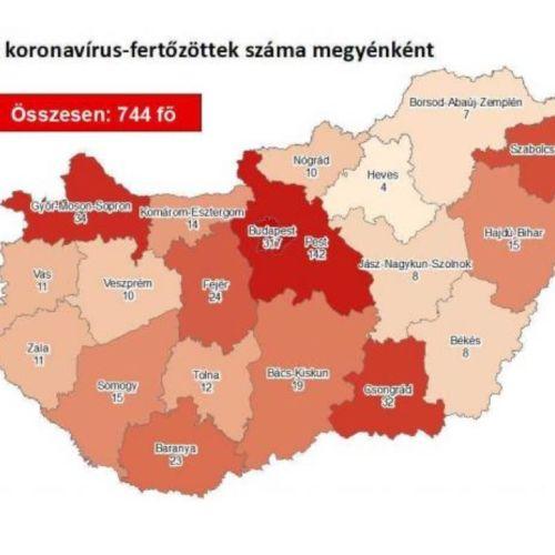 Koronavírus: Ezekkel az adatokkal indul a hét Magyarországon és Ausztriában