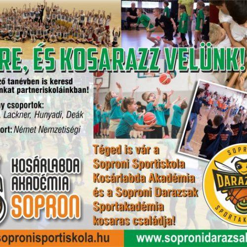Szeptembertől újra várjuk az alsósokat a soproni iskolákban