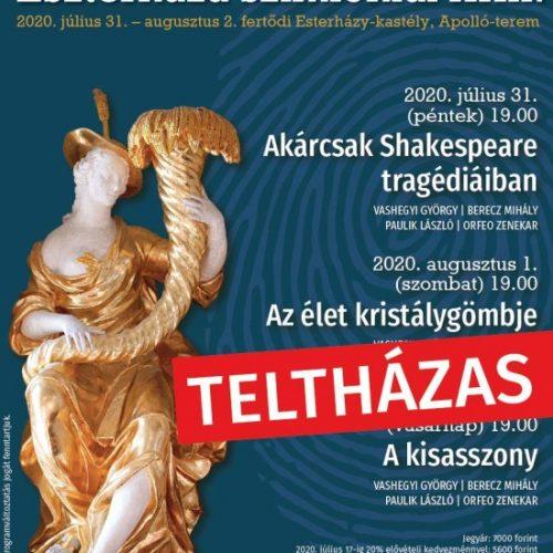 Teltházzal indul újra a zenei évad Eszterházán