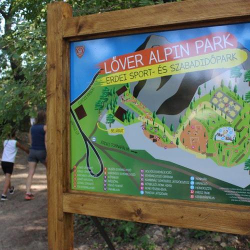 Újra nyitva van a közelmúltban átadott Lőver Alpin Park