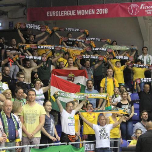 Női Euroliga – Főtáblán a Sopron Basket