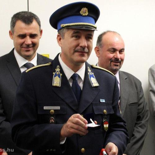 Vezetőváltás történt a Soproni Rendőrkapitányságon