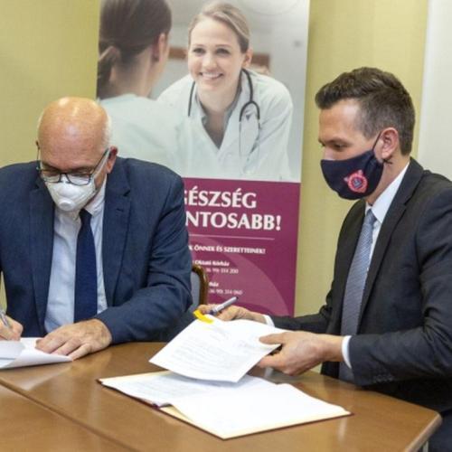 30 millió forintos önkormányzati támogatás a soproni kórház járványügyi tevékenységéhez