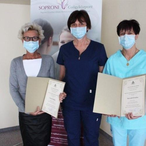MOK elismerést kapott a Soproni Kórház két munkatársa