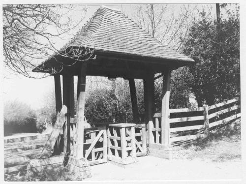 Lychgate of Minstead Church