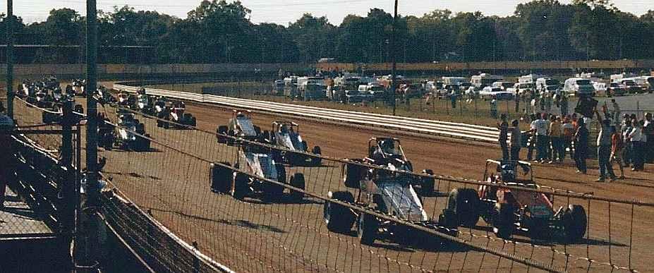 Parade lap, 1986
