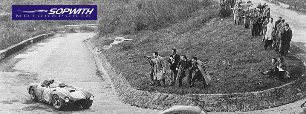 The Mille Miglia, 1954