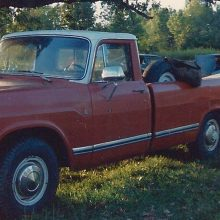 COLLECTOR CARS: 1974 International Pickup vs 1975 Ford F150
