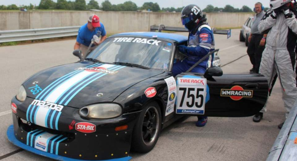 Cox and WMRacing Charge From Back of Pack to Podium Finish