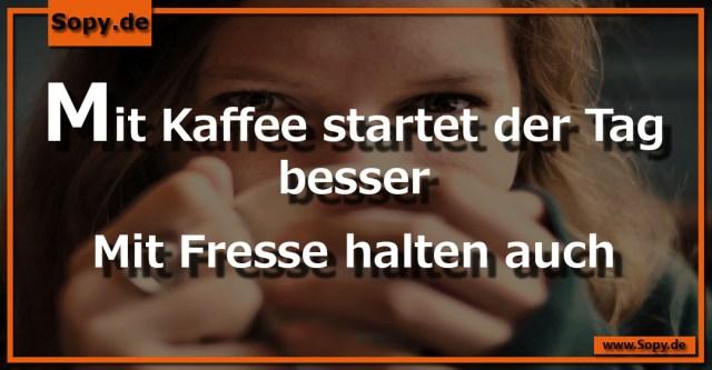 Mit Kaffee startet