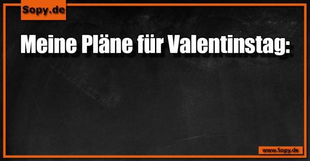 Pläne für Valentinstag