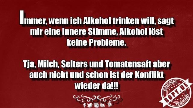Alkohol trinken