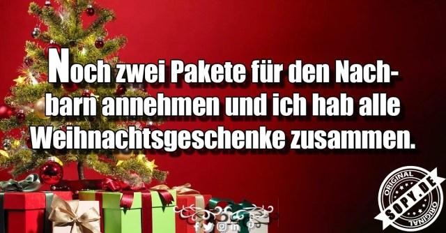 alle Weihnachtsgeschenke