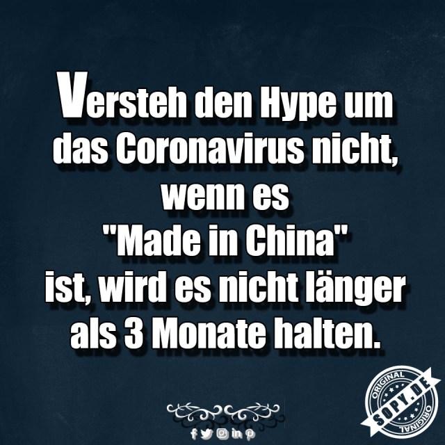 Coronavirus aus China