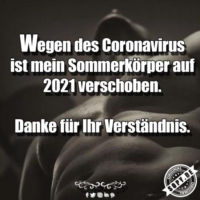 Coronavirus Körper