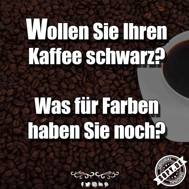 Kaffee schwarz