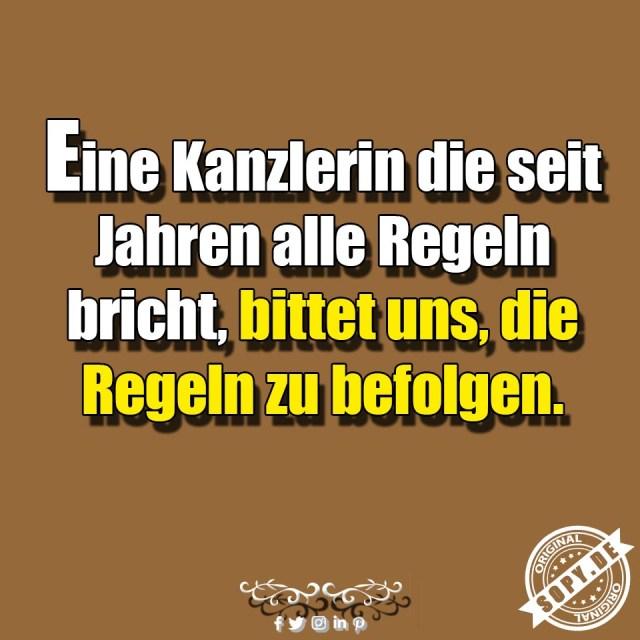 Angela Merkel Regeln