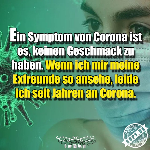 Symptome von Corona